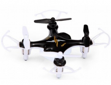 AM-SYSX12S Syma X12S Nano 4CH Remote Control Quadcopter 2.4GHz Black